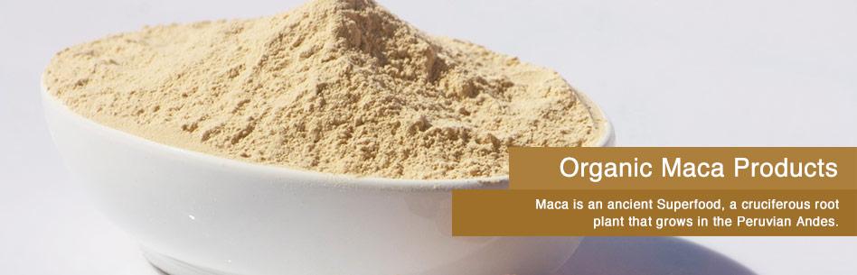 Natural Superfood Organic Maca Gold